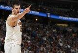 """W.Bartonas: """"NBA istorijoje nebuvo tokio žaidėjo kaip Jokičius"""""""