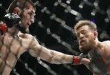 """UFC statistika: už """"sugertą"""" smūgį daugiausiai uždirba A.Overeemas ir C.McGregoras"""