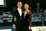 Lietuvos šokėjai tarptautinėse varžybose laimėjo dešimt porų medalių