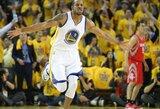 A.Iguodala: iškovotas NBA čempiono žiedas sulaikytų mane nuo noro iškaršti kailį Curry