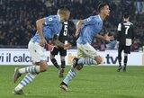 """Prieš """"Lazio"""" suklupęs """"Juventus"""" užleido """"Inter"""" į turnyrinės lentelės viršūnę"""
