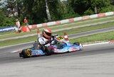 """""""Pro Kart"""" penktajame etape Latvijoje lenktynininkus kankino karštis"""