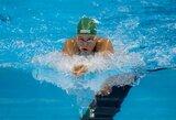R.Meilutytė sugrįžimą į varžybas pažymėjo aukso medaliu