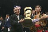 Kovoje dėl milijono, M.Ali trofėjaus ir pasaulio čempiono diržų – kraują liejusio N.Inoue triumfas