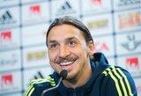 """Švedijos treneris nustebęs: """"Kodėl mes vis dar kalbame apie Z.Ibrahimovičių?"""""""
