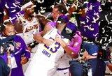 """""""Lakers"""" komandai teks palaukti pergalės parado"""