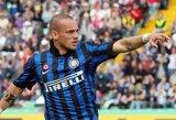 """W.Sneijderis: """"Vėl esu geriausios sportinės formos"""""""