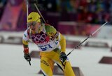 Lietuvos moterų biatlono rinktinė pasaulio taurės etape aplenkė dvi komandas, nugalėjo ukrainietės
