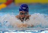 """Europos vicečempionas J.Goddardas: """"M.Phelpsas yra geriausias visų laikų sportininkas"""""""