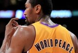 M.World Peace: palieku krepšinį ir nuo šiol žaisiu ledo ritulį