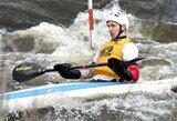 Lietuviai sėkmingai pradėjo baidarių  ir kanojų slalomo sezoną Latvijoje