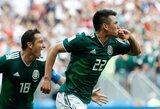 Meksika paguldė pasaulio čempionus vokiečius