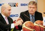 G.Rutkauskas pasitraukė iš Rusijos krepšinio lygos generalinio direktoriaus posto