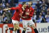 """W.Rooney įvertino """"Man Utd"""" galimybes kovoti dėl """"Premier"""" lygos titulo su C.Ronaldo"""
