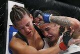Buvusi UFC čempionė M.Tate po pralaimėjimo paskelbė apie karjeros pabaigą
