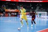 Prieš lemiamą kovą pasaulio futsalo čempionate Lietuvos rinktinę paliko žaidėjas ir atsisveikino su futbolu