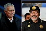 """Stiprus D.Maradonos pareiškimas: """"J.Mourinho – geriausias treneris pasaulyje"""""""