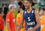 N.Batumas išreiškė norą padėti Prancūzijos rinktinei pasaulio čempionate, T.Parkeris gali praleisti pirmenybes