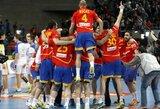 Dėl pasaulio vyrų rankinio čempionato aukso kovos Ispanija ir Danija