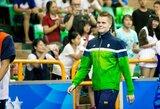 D.Rapšys Belgijoje nuskynė net keturis aukso medalius