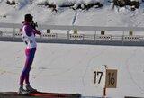 Jaunieji Lietuvos biatlonininkai pasaulio čempionato persekiojimo lenktynėse nežibėjo