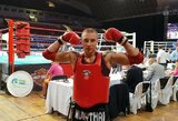 Europos muaythai čempionate O.Jurginas nokautavo varžovą, M.Narauskas pateko į finalą