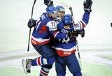 JAV vyrų ledo ritulio rinktinė patyrė netikėtą nesėkmę Pasaulio čempionate