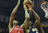 "T.Arizos rekordas ir lengva ""Rockets"" komandos pergalė"