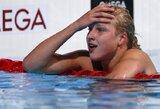 Eilinį Lietuvos rekordą pagerinusi R.Meilutytė į pusfinalį pateko ir plaukdama nugara (laimėta 200 m kompl. plaukimo atranka)