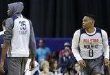 Dar prieš K.Irvingą ir L.Jamesą: didžiausi NBA žvaigždžių išsiskyrimai