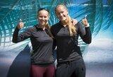 I.Zobnina ir U.Andriukaitytė Vilniuje užsitikrino vietą tarp aštuonių geriausių turnyro porų (papildyta)
