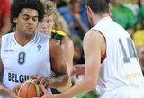 """Sutrumpėjo Belgijos rinktinės kandidatų sąrašas, komandai padės """"Olympiacos"""" naujokas"""