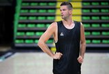 """ASVEL treniruotėse plušantis M.Kalnietis: """"Visada malonu grįžti į Lietuvos rinktinę"""""""