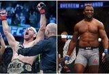 Šventė UFC gerbėjams: kova dėl sunkiasvorių čempiono diržo – jau po šešių savaičių