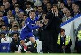 """""""Chelsea"""" fanai gali atsikvėpti - E.Hazardas užsiminė apie naują kontraktą su """"aristokratais"""""""