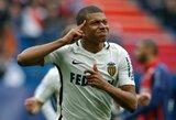 """""""Real"""" ir """"Monaco"""" susitarė dėl 180 mln. eurų vertės K.Mbappe transfero"""
