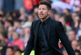 """D.Simeone giria """"Real"""", jog puikiai susitvarkė su C.Ronaldo išvykimu"""