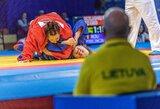K.Stefanovič Europos žaidynių sambo turnyre patyrė du pralaimėjimus