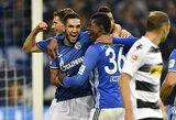 """""""Schalke"""" iškovojo pirmą pergalę Vokietijos čempionate"""