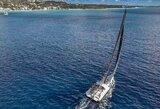 """Įspūdingi vaizdai iš įvykio vietos: vandenynų dakaro bolidas """"Ambersail 2"""" ruošiasi pirmajai kovai Barbadose"""