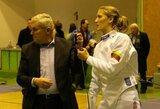 Pasaulio fechtavimo taurės etape dvi lietuvės pateko į atkrintamąsias varžybas