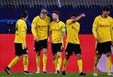 """Dviejų įvarčių pranašumą iššvaisčiusi """"Borussia"""" žengė į Čempionų lygos ketvirtfinalį"""
