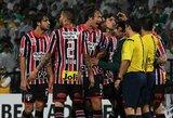 """""""Copa Libertadores"""" pusfinalyje – teisėjo šou, dėl kurio nebuvo žaidžiama 6 minutes"""