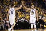 """S.Curry priminė apie save, o rekordą pasiekusi """"Warriors"""" pasityčiojo iš """"Rockets"""""""