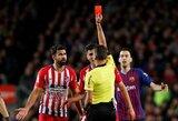 """Ispanijos spauda: kantrybę praradę """"Atletico"""" ketina parduoti problematišką D.Costą"""