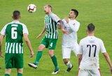 UEFA šalių reitinge – dar vienas A lygos šuolis aukštyn