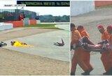 Beprotiškos lenktynės Silverstone: A.Rinsas ties finišu 0.013 sek. aplenkė M.Marquezą, A.Dovizioso išgabentas į ligoninę