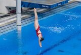 Šuolininkė į vandenį I.Girdauskaitė Europos žaidynėse – 19-a (komentaras)