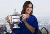 WTA vienetų reitinge – įspūdingas F.Pennettos šuolis, J.Eidukonytė beveik pavijo L.Stančiūtę