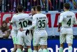 "Vokietijoje pergales iškovojo ""Stuttgart"" ir ""Werder"""